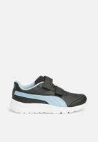 PUMA - Stepfleex 2 Run SL V PS - Puma black/cerulean