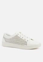 ALDO - Jocobe lace up  - white