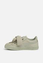 PUMA - Suede Heart Sneaker PS - rock ridge