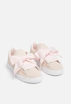 PUMA - Suede Heart Valentine PS - pearl/light pink