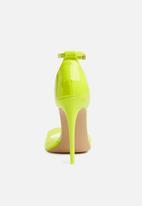 ALDO - Ligoria stiletto heel - neon yellow