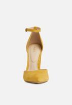 ALDO - Nicholes block heel - mustard
