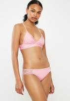 Bacon Bikinis - Scrunch multi bottom - pink
