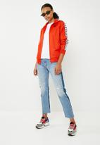KAPPA - Authentic zip up top - red & white