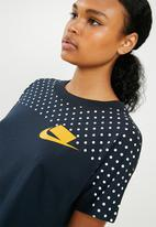 Nike - NSW crop top - navy