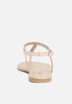 Call It Spring - Gwirevet flat - pink