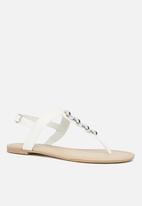 Call It Spring - Asauclya flat - white