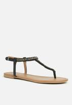 Call It Spring - Abienna flat - black