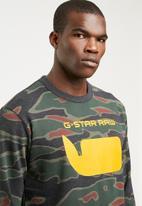 G-Star RAW - Sherland sweat - green