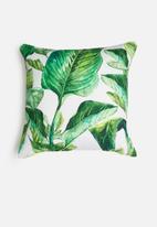 Grey Gardens - Gingerleaf cushion cover - green
