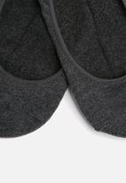 Superbalist - Secret socks 1 pack - charcoal