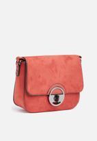 New Look - Round lock saddle - orange