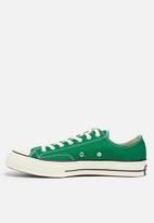 Converse - CTAS 70 OX -Vintage canvas - green/black/egret