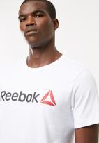Reebok - Linear logo tee - white