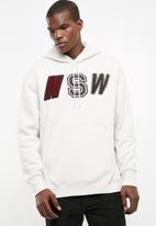 Nike - Nsw fleece hoodie - taupe