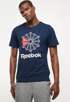 Reebok Classic - Foundation graphic tee - navy