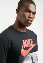 Nike - NSW short sleeve tee - black