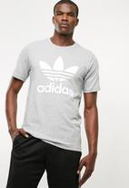 adidas Originals - Mens original trefoil tee - grey