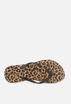 Cotton On - Rubi flip flop - brown