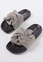 Cotton On - Wild slide - black & white