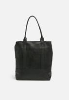 FSP Collection - Travel tote leather - black