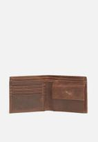 FSP Collection - Timberland leather wallet - chocolate brown