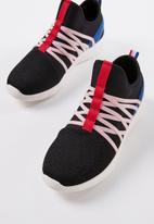 Cotton On - Faith sock trainer - black & pink