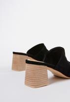 Cotton On - Madrid mule heel - black