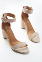 Cotton On - San cosmo round heel - pink
