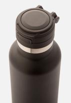 Steely - 660ml insulated HP sport bottle - black