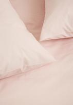 Sixth Floor - Percale duvet cover - dusty pink