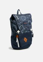 JanSport - Pike backpack - navy & white