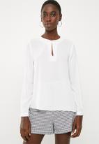 Superbalist - Basic shell blouse - white