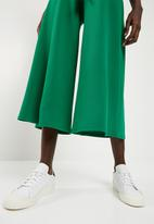 Superbalist - Wide leg knit culotte - green