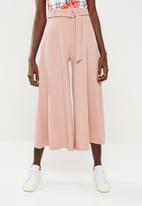 Superbalist - Wide leg knit culotte - pink