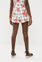 Superbalist - Printed pull on knit shorts - multi