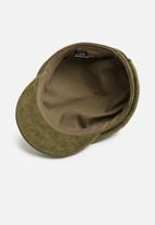 Cotton On - Bailey baker boy cap  - khaki