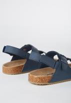Cotton On - Theo sandal - navy