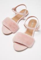 Cotton On - Bianca fluffy sandal - pink