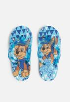 Character Fashion - Paw patrol summer flip flops - blue
