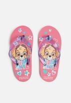 Character Group - Paw patrol flip flops - pink