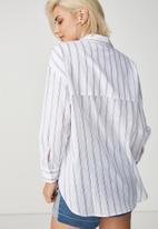 Cotton On - Monique summer shirt - white