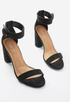 Cotton On - San cosmo round heel - black