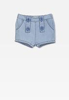 Cotton On - Sophie short - blue