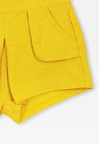 Cotton On - Sophie short - yellow