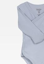 Cotton On - Wrap bubbysuit - blue