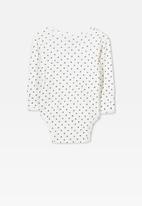 Cotton On - Wrap bubbysuit - white