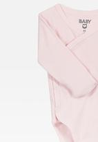 Cotton On - Wrap bubbysuit - pink