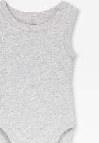 Cotton On - Singlet bubbysuit - light grey