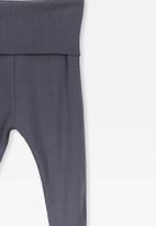 Cotton On - Footed legging - indian ink